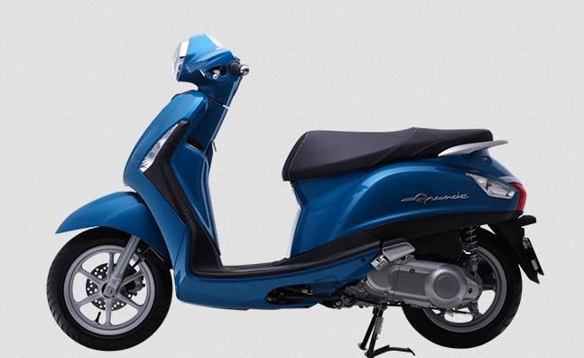 Ảnh Yamaha Grande STD màu xanh tím ánh kim