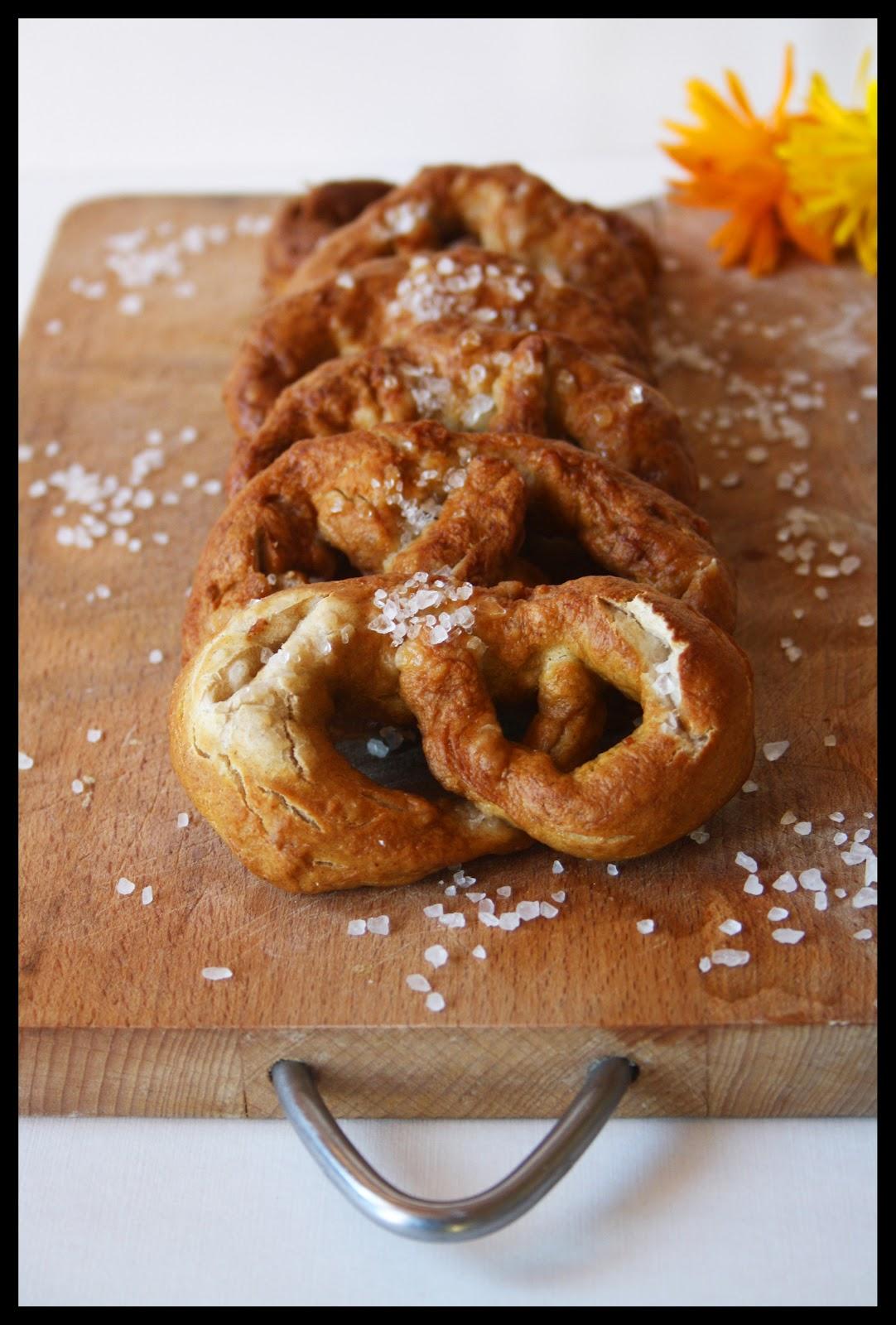Lucie cuisine recettes di t tiques bretzels maison for Acide tartrique en cuisine