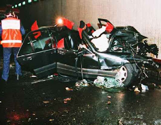 princess diana accident photos