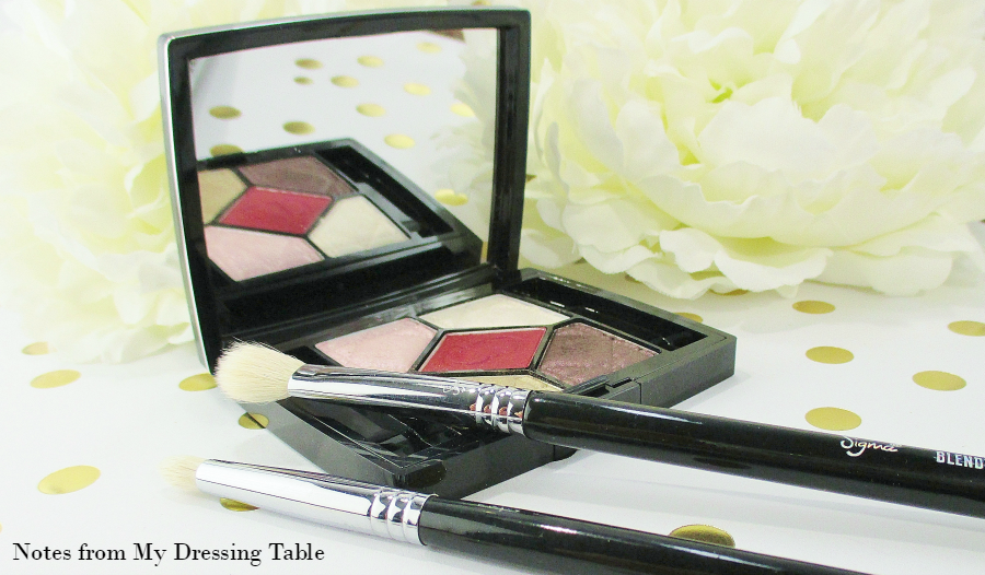 Dior Eye Shadow Palette Trafalgar notesfrommydressingtable.com