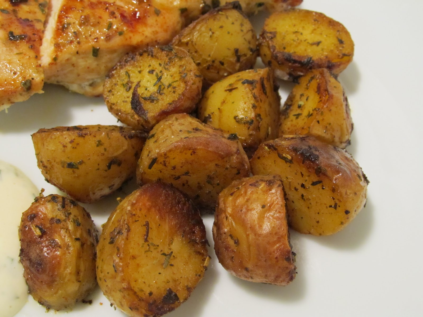 Jenn's Food Journey: Herby Grilled Potatoes