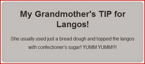 grandmothers tip for langos