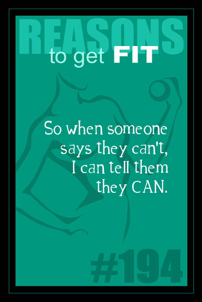 365 Reasons to Get Fit #194