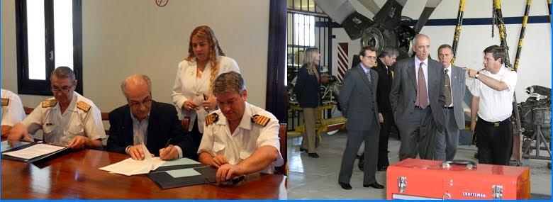 Convenio entre la Universidad Tecnológica Nacional y la Armada Argentina