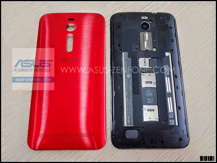 ASUS Zenfone 2 Dual SIM1 SIM2 BackPannel