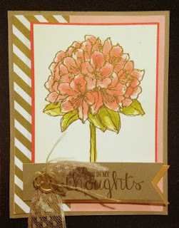 Stampin' Up! Best Thoughts Swap from Hawaii Incentive Trip Display Board #stampinup