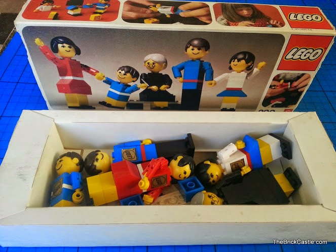 The original 1970's LEGO Family in the box complete
