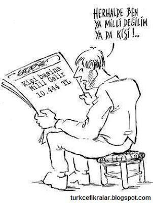 Herhalde Ben Ya Milli Değilim Ya Da Kişi - Karikatür