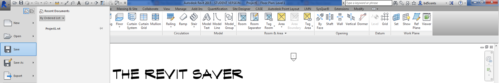 The Revit Saver