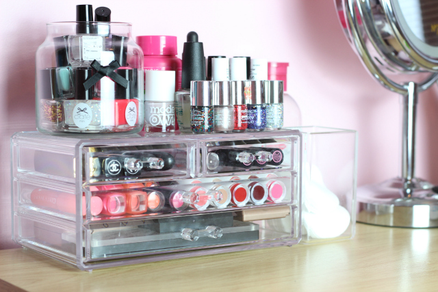 Affordable Acrylic Makeup Storage