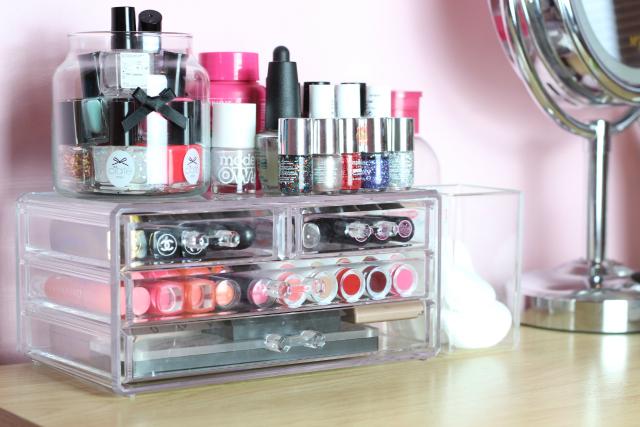 Affordable Acrylic Makeup Storage