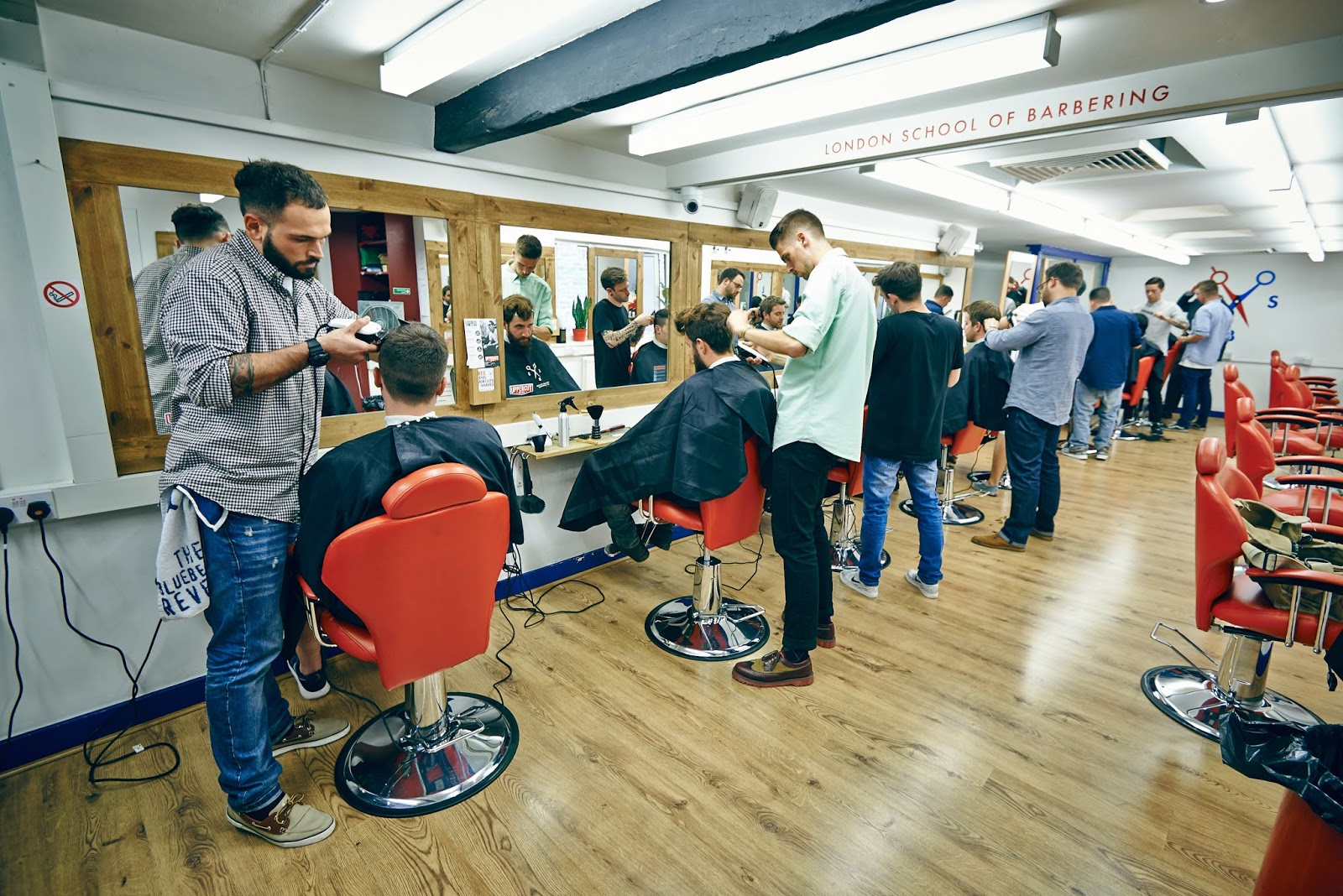 Barber School : THE LONDON SCHOOL OF BARBERING: UKS LEADER IN BARBERING COURSES ~ THE ...