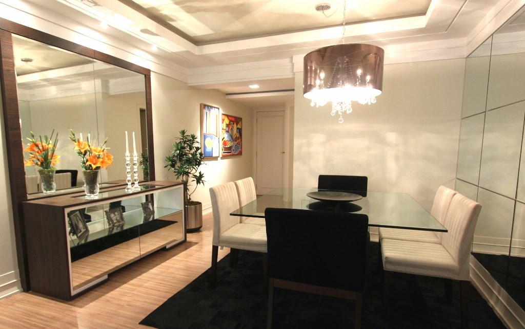 Fotos De Balcao De Sala De Jantar ~ Salas de jantar50 modelos maravilhosos e dicas de como decorar