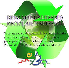 Reto MYBA Reciclaje enero 2016