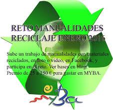 Reto MYBA Reciclaje enero 2016