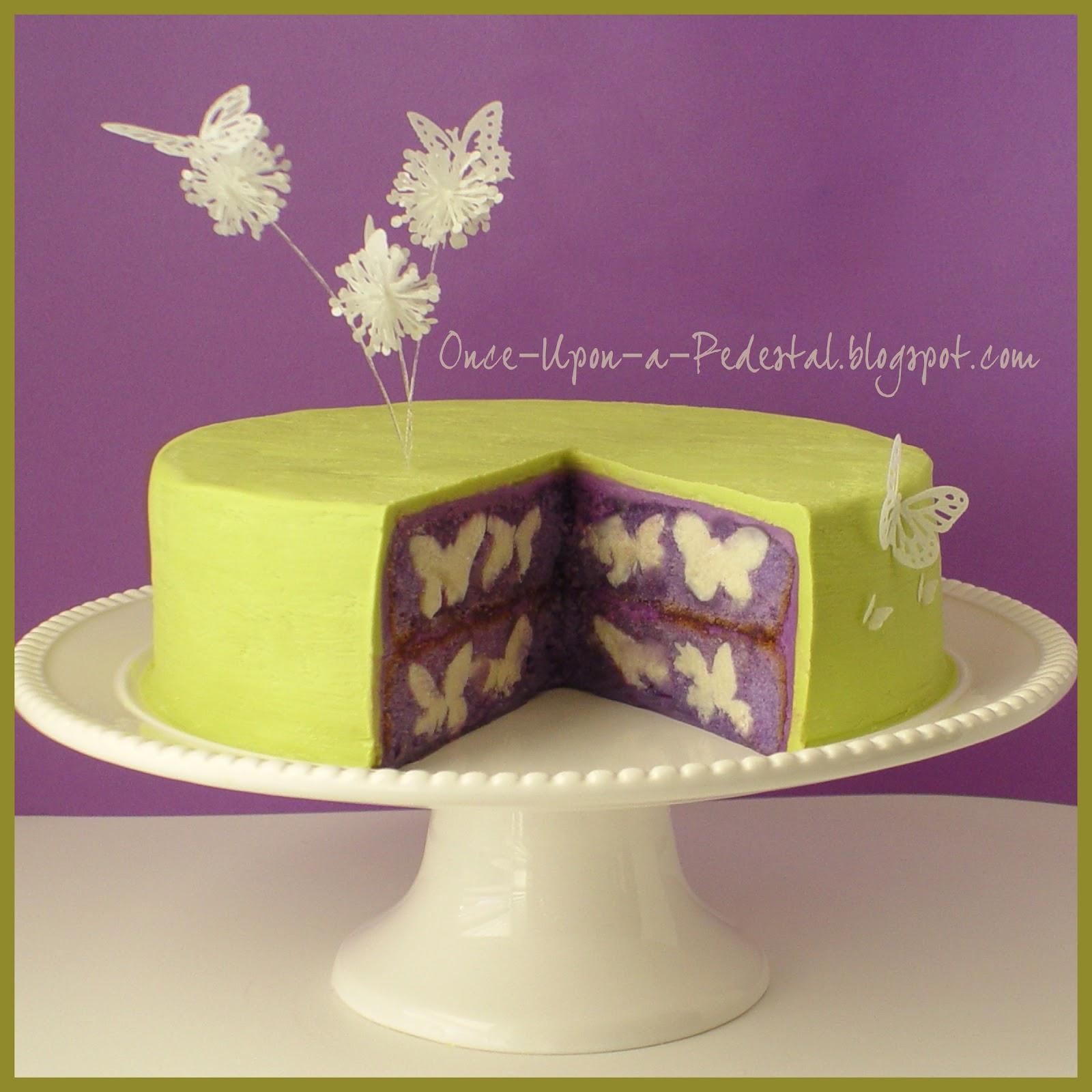 Hidden Design Cake Ideas : Once Upon A Pedestal: Surprise Inside Cake - Hidden ...
