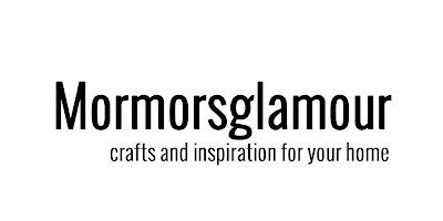 Mormorsglamour- pyssel och inredning