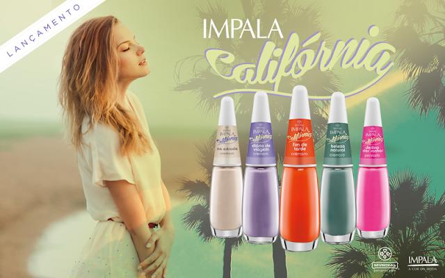 Esmaltes Impala Coleção Califórnia