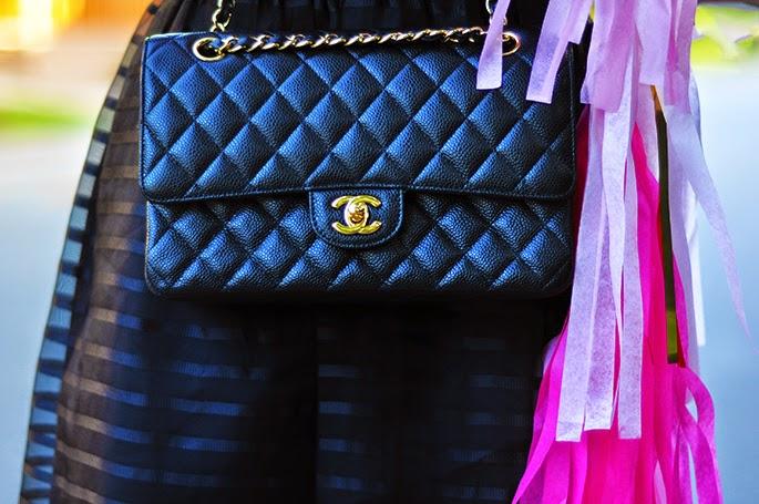 Classic Chanel flap-bag