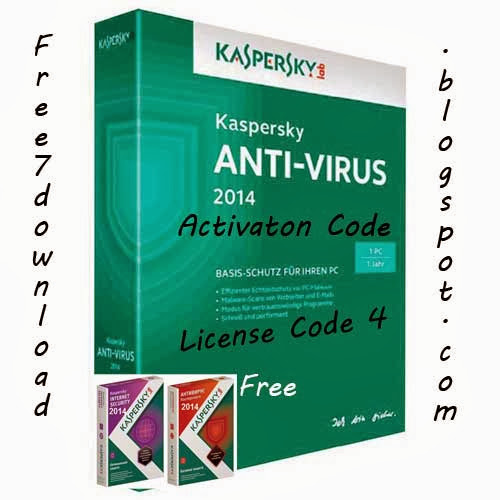 Kaspersky Antivirus 2014 License Key Activation Code
