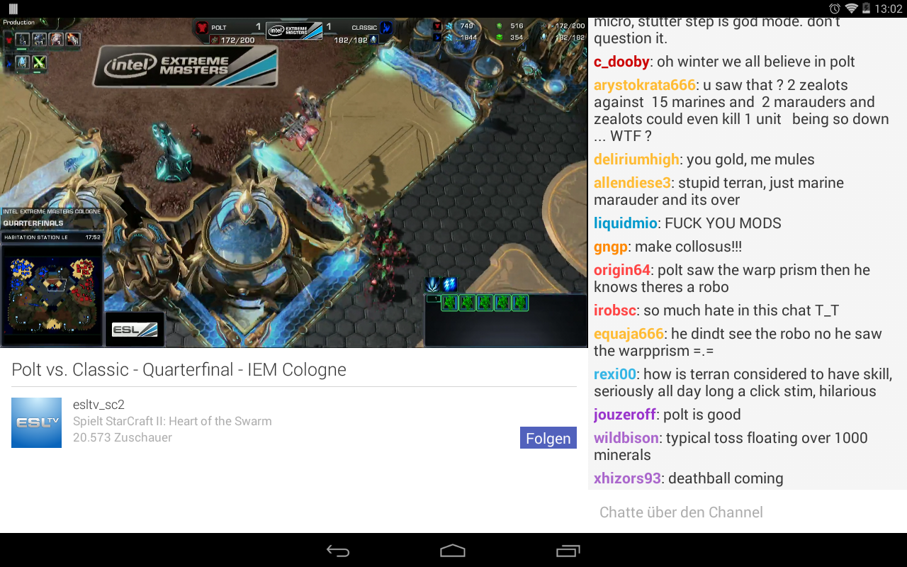 Sick Of Twitch39s Android App Try Vortex Rak39s Armory
