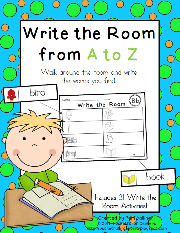 Pocketful of Centers: Write the Room from A to Z