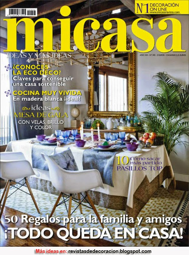 REVISTA DE DECORACIÓN MI CASA