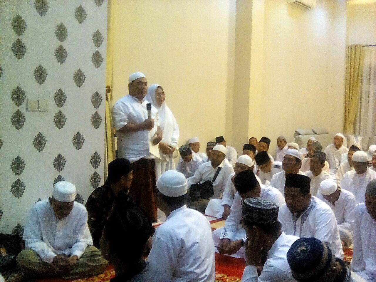 Masyarakat Langkat Adakan Doa dan Zikir Dikediaman Terbit Rencana PA SE