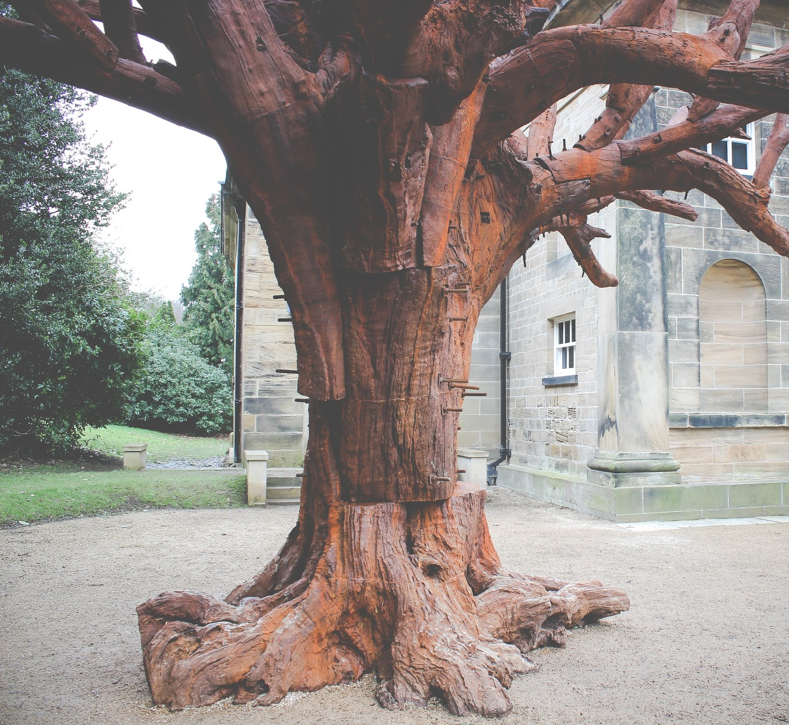 Yorkshire Sculpture Park - Ai Weiwei's 'Iron Tree'