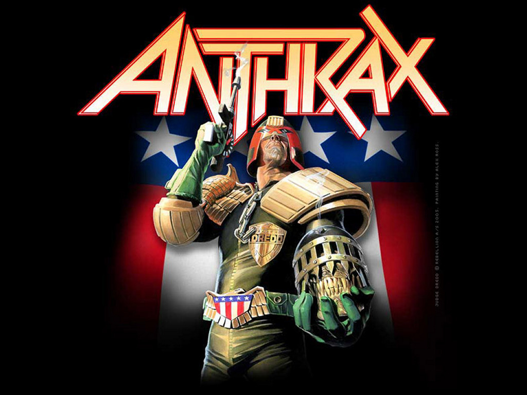 judge dredd anthrax
