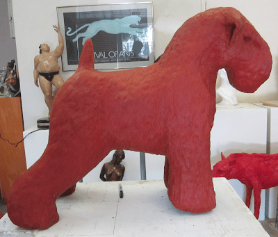 wax dog casting