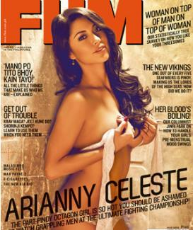 May 2012 issue fhm philippines cover may 2012 arriany celeste ufc philippines