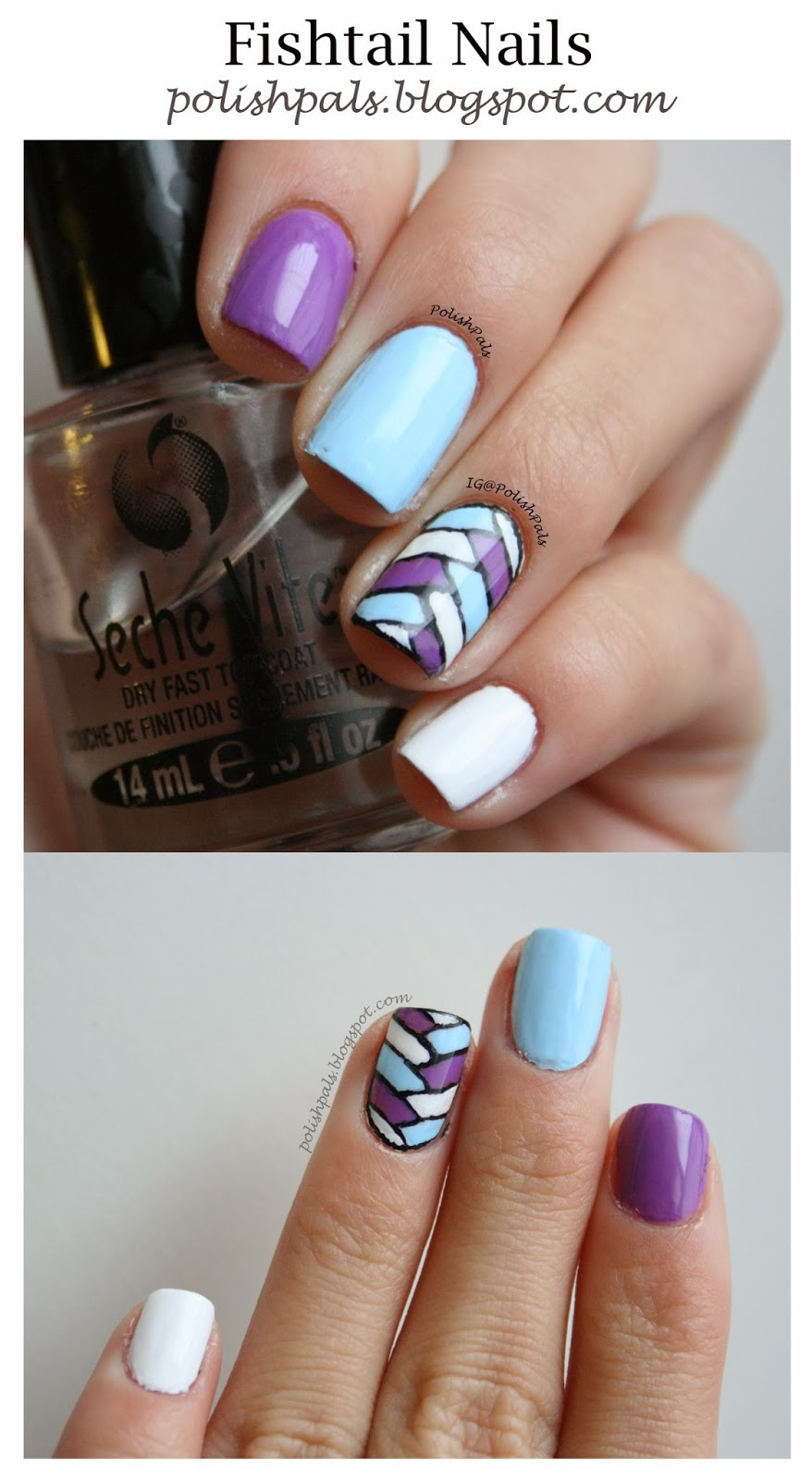 Polish Pals: Fishtail Nails, Anyone?