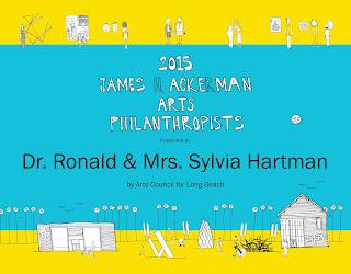 2015 James H Ackerman Arts Philanthropists - The Hartman's