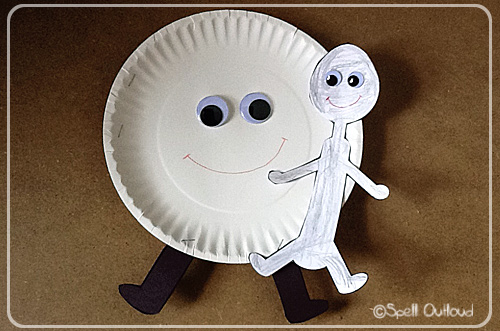 Hey Diddle Diddle Paper Plate Craft