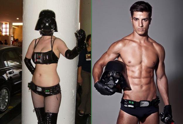 costume darkvador homme et femme