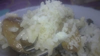 risotto con queso