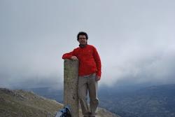 En la cumbre de La Tiñosa