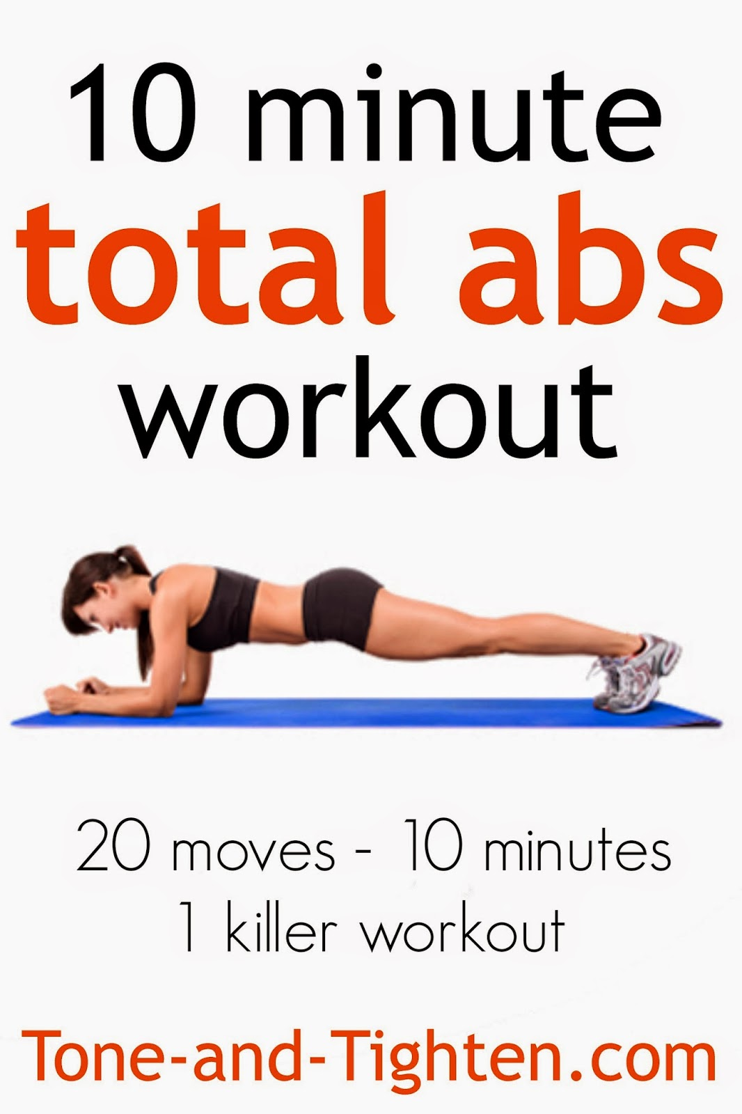 Total Abs Workout For Women 10 Minute Total Abs Workout