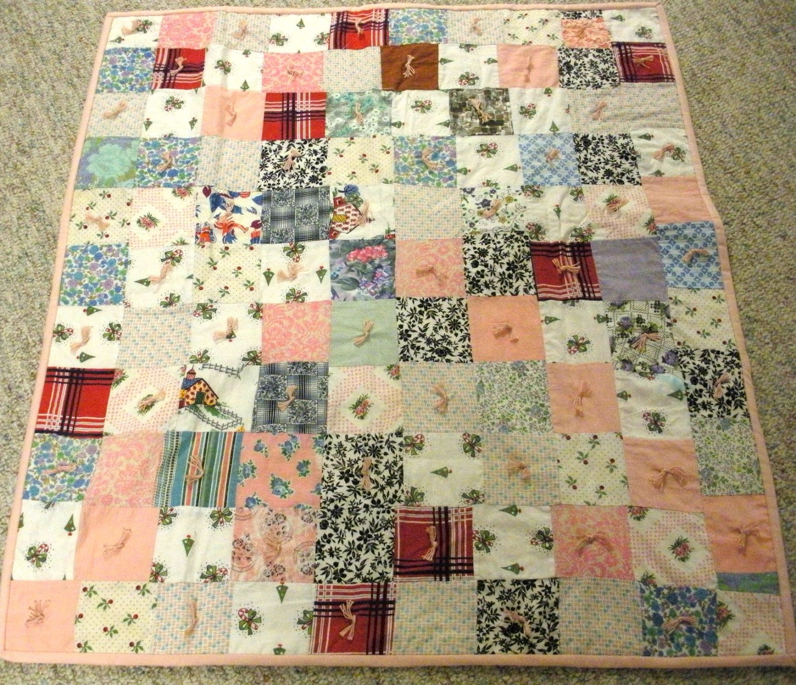 A crafter for all seasons quilts for What to do with an old quilt