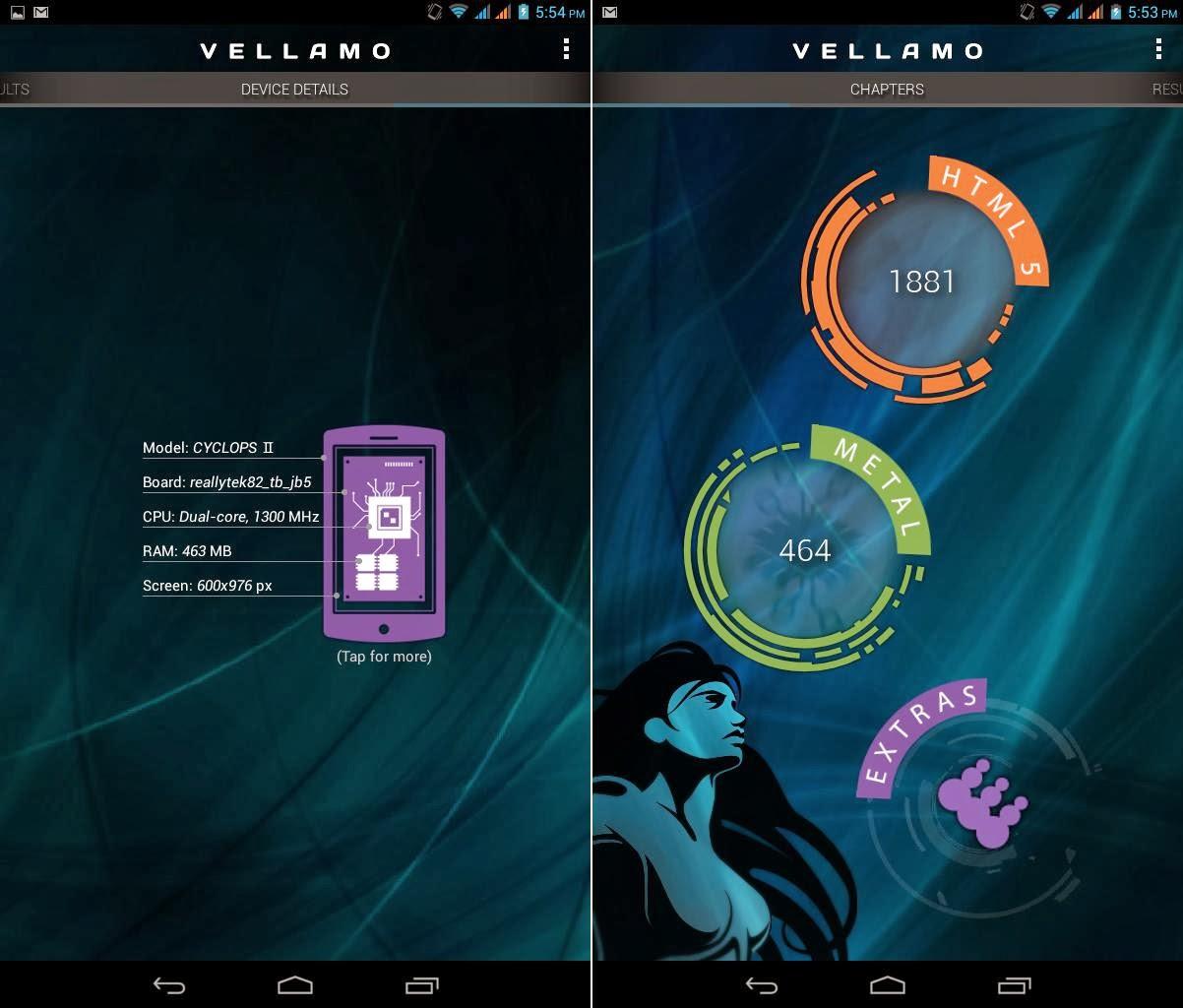 SKK Mobile Cyclops 2 Vellamo HTML 1881 & Metal 464