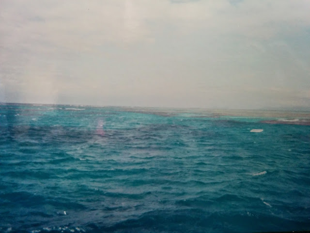 blue pacific ocean