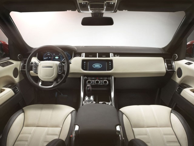 Range Rover Sport new 2014 interior
