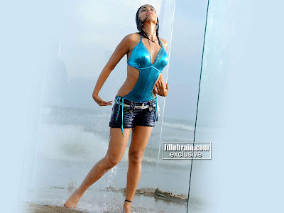 Shriya Saran Bikini Photos