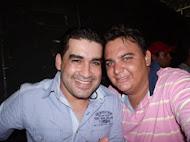 Eu e César Salles Vocalista da Banda Limão com Mel
