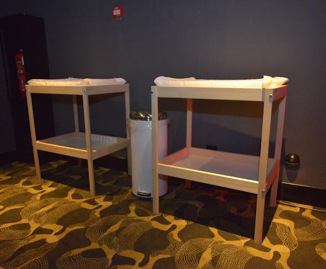 TGV Family Friendly diaper tables