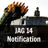 JAG 14 Notification