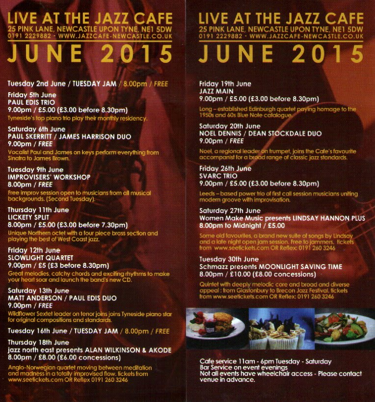 June at the Jazz Café