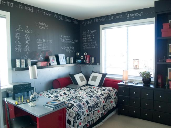 Habitaciones con estilo habitaci n juvenil para espacios - Dormitorio pequeno juvenil ...