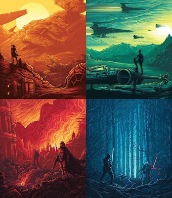 Star Wars: The Force Awakens IMAX Print Series by Dan Mumford x Gallery 1988